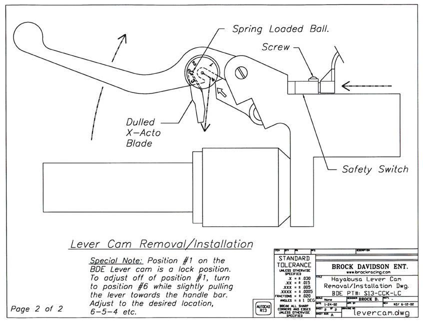 Installation Instructions Brocks Performance